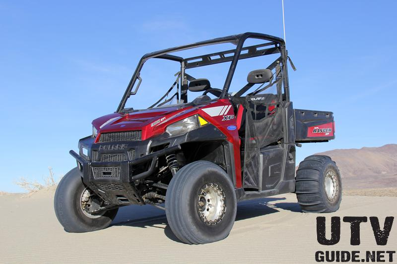 Polaris RANGER XP 900 with Paddle Tires