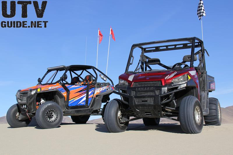 RANGER XP 900 vs. RZR XP 900