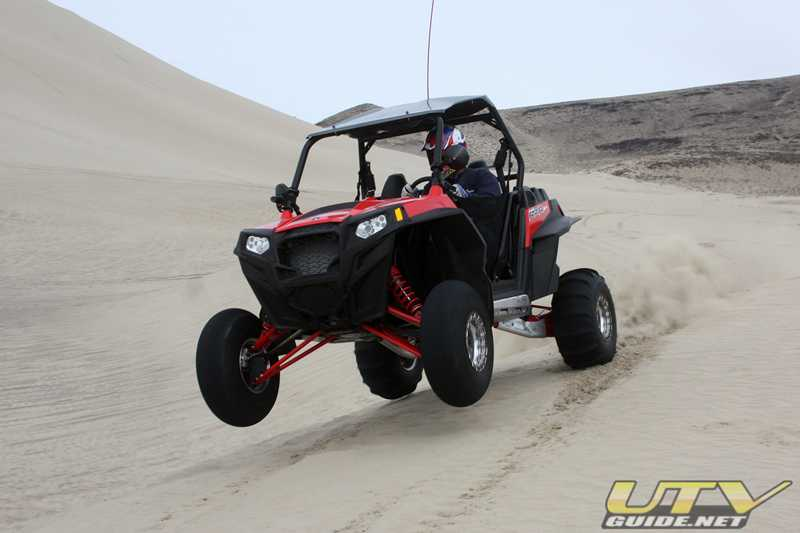 Polaris RZR XP at Sand Mountain