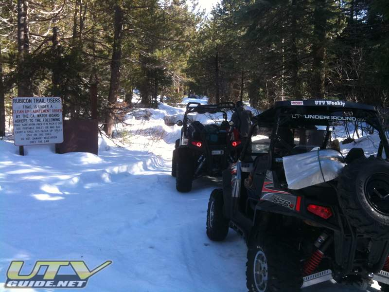Rubicon Trail - Wentworth Springs Rd.
