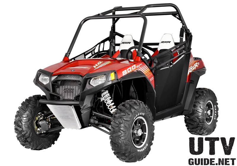 limited-edition RZR S 800 EPS Sunset Red