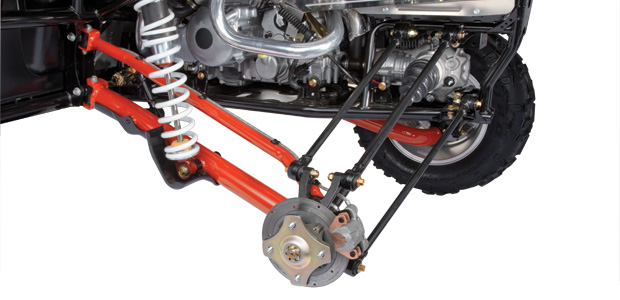Arctic Cat Wildcat 4 5-link Rear Suspension