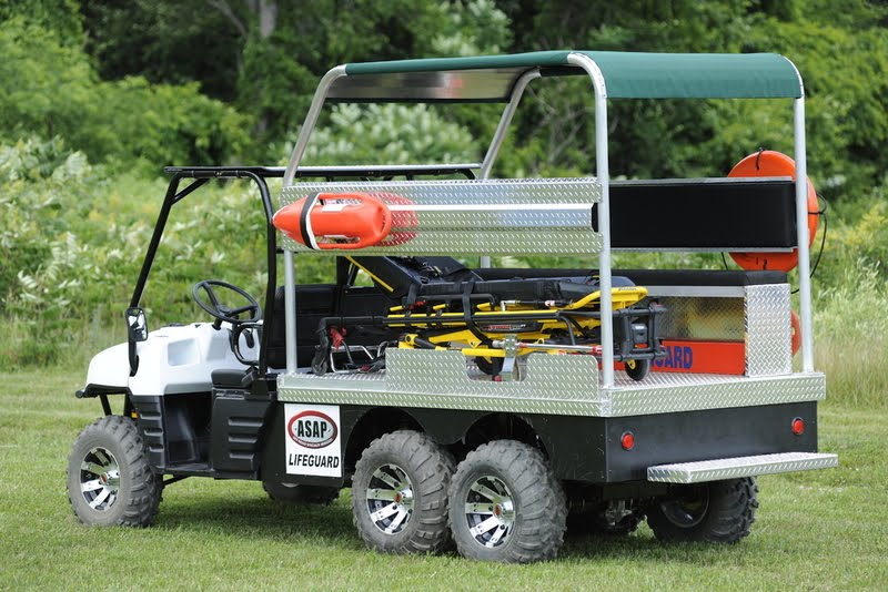 New Lifeguard Off Road Beach Amp Trail Patrol Rescue Vehicle