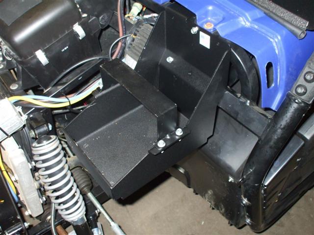 Under Hood Battery Tray For Yamaha Rhino 700 Efi Utv Guide