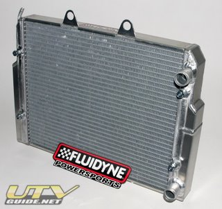 Fluidyne Radiator for Polaris RZR