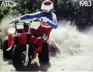 Honda ATV Three Wheeler circa 1983
