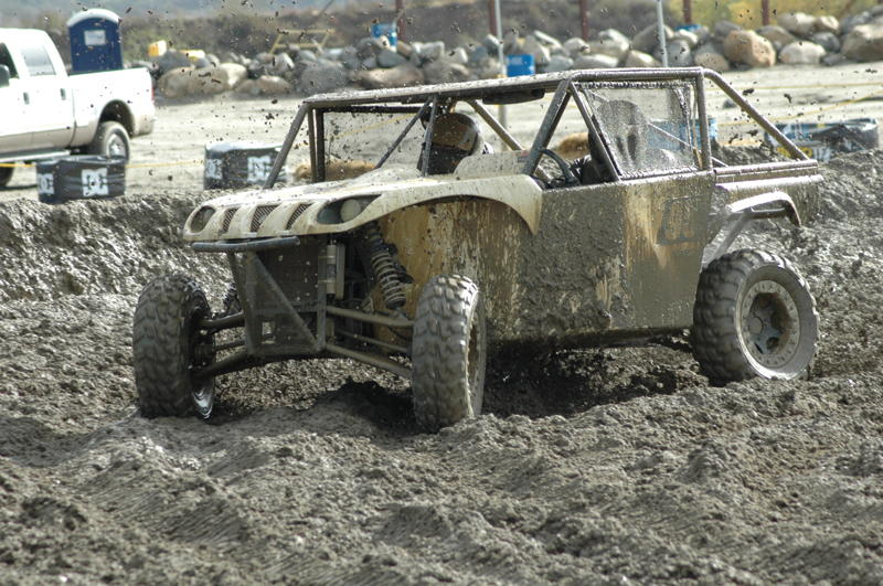 Eleven utvs take on a muddy pala raceway for the sxs for Yamaha grizzly 660 tracks