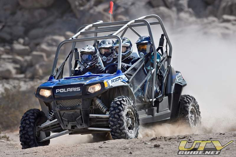 Robby Gordon Edition, the Industry's First Four-Seat Side-by Side