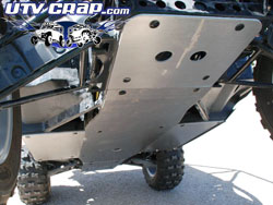 Prowler 1000 skid plate