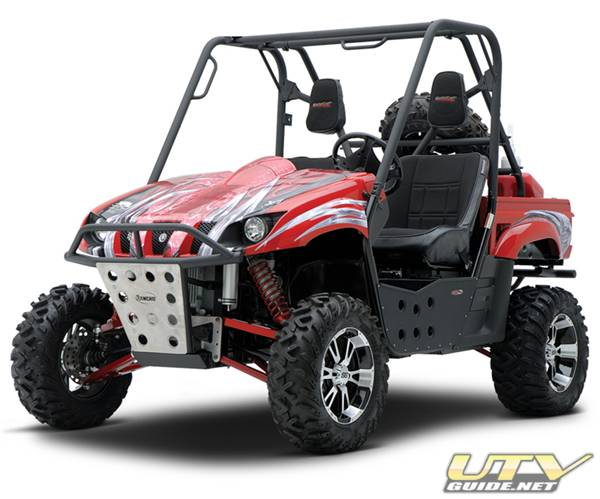New Long Travel Suspension for Yamaha Rhino from Rancho
