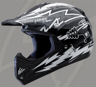 Scorpion's Ray Gun VX-9 youth helmet