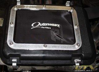 Kawasaki Teryx Airbox Lid