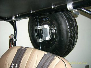 Billet Spare Tire Carrier from MachineTrix
