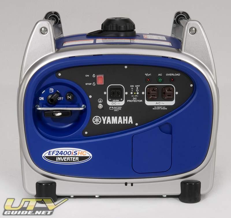 yamaha announces all new ef2400ishc generator utv guide