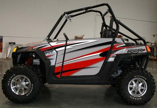 Polaris RZR S Doors and Graphics Kit