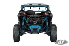 2018 Maverick X3 X rc TURBO R Carbon Black and Octane Blue_back