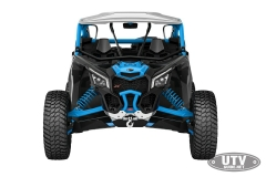 2018 Maverick X3 X rc TURBO R Carbon Black and Octane Blue_front