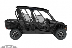 2019 Commander MAX LIMITED 1000R Triple Black_side right