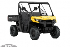 2019 Defender Base HD8 Yellow_3-4 front
