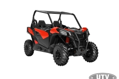 2018 Maverick Trail DPS 1000 Can-Am Red_3-4 front_SM