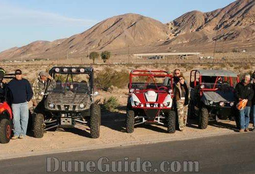 UTVs in Mojave