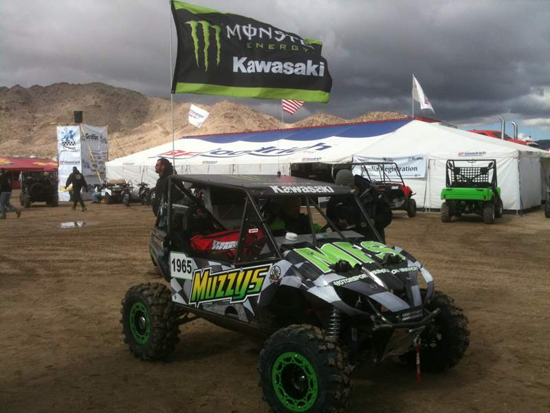 King of the Hammers UTV Race