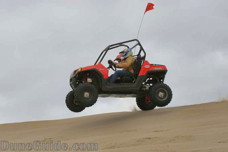 Polaris RZR 800 with Fireball Long Travel