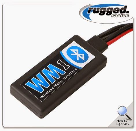 Rugged RadiosWireless Music Interface