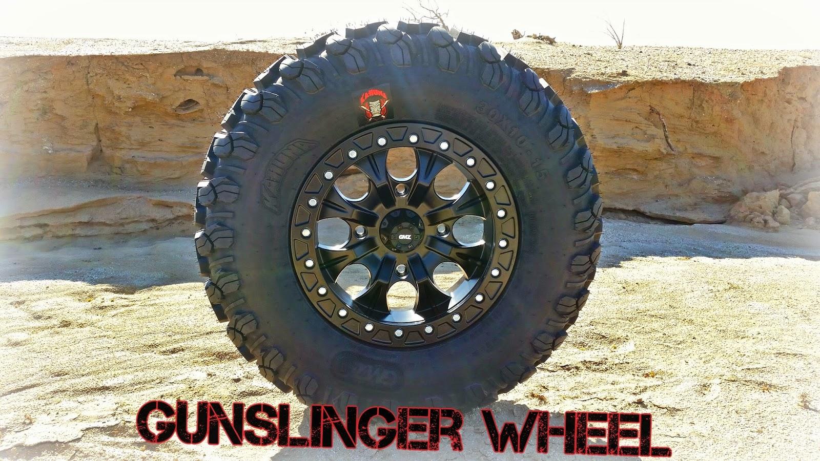 GMZ Gunslinger Beadlock Wheel