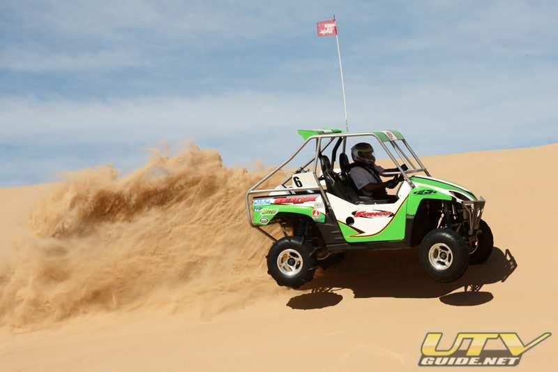 Kawasaki Teryx with ITP Dune Star tires