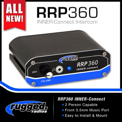 Rugged RRP360 Inner-Connect 2-place intercom
