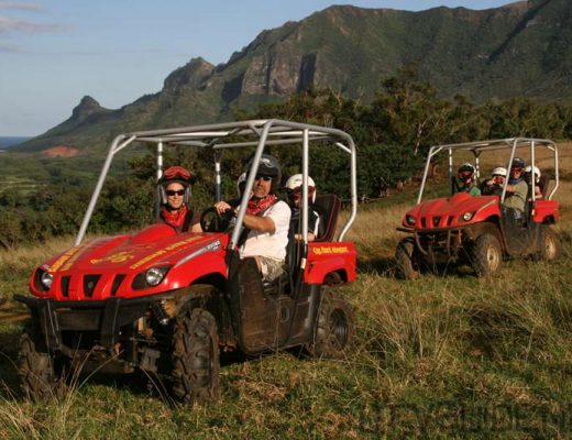 Yamaha Rhinos on the Kipu Ranch Tour