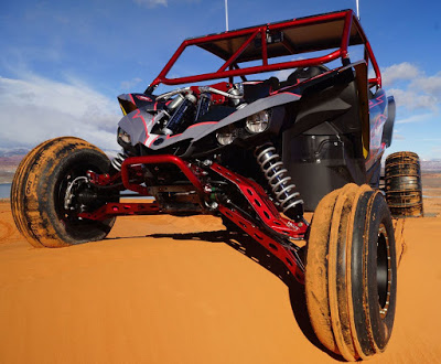 Yamaha YXZ1000R Long Travel Suspension System