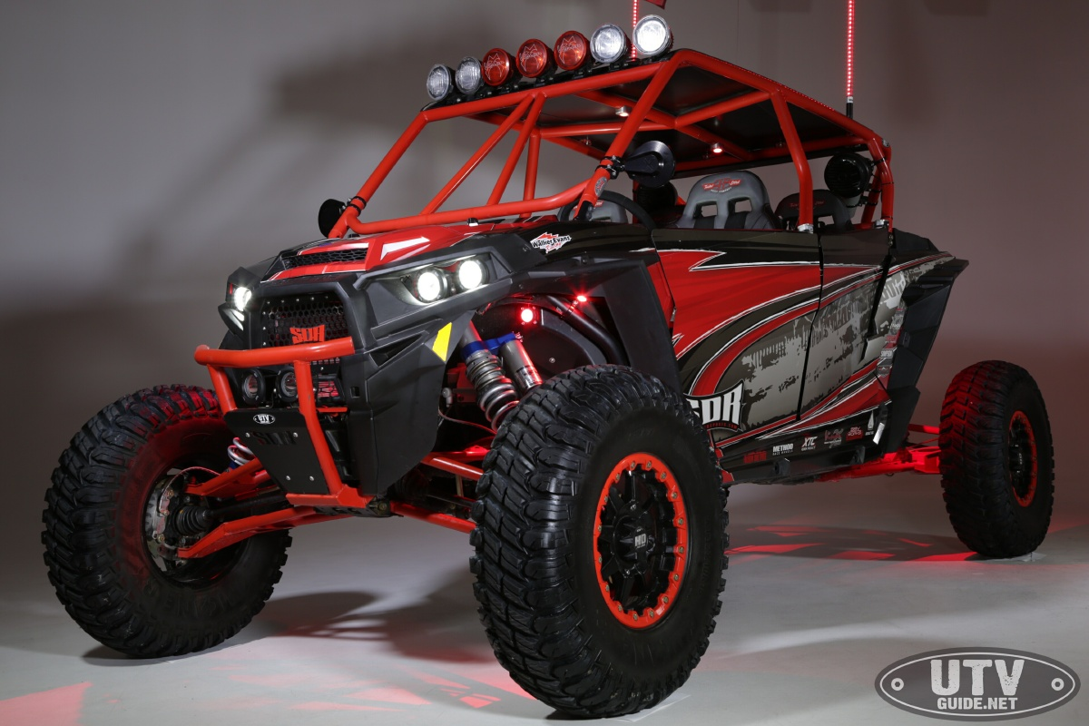 Polaris RZR XP4 Turbo with Vision X LED Lights