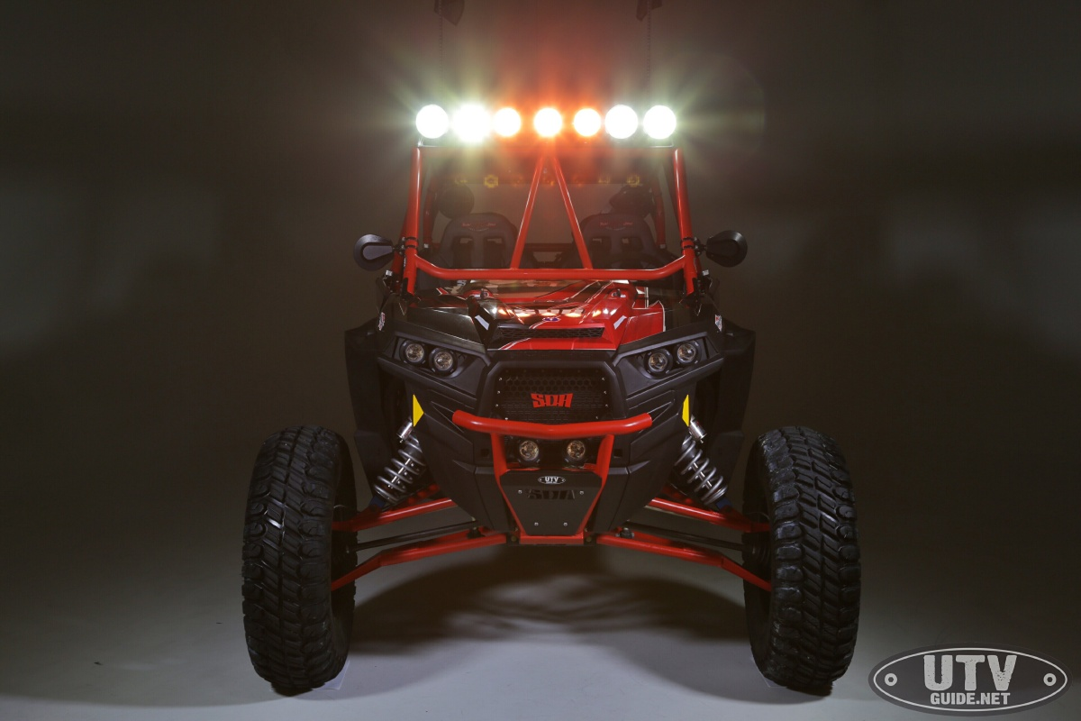 Led Lighting On Our Polaris Rzr Xp4 Turbo Utv Guide