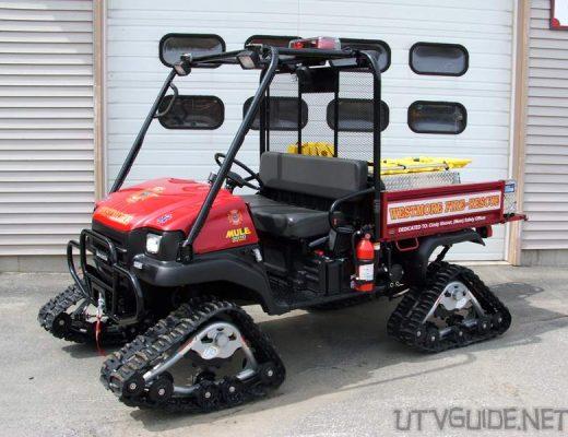 Kawasaki Mule on tracks - Westmore Fire & Rescue