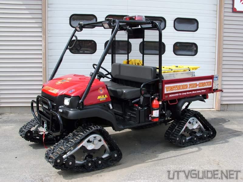Kawasaki Mule On Tracks Westmore Fire Rescue