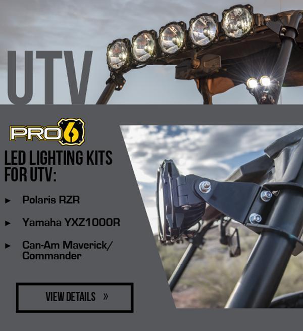 GRAVITY LED PRO6 LED LIGHT BAR
