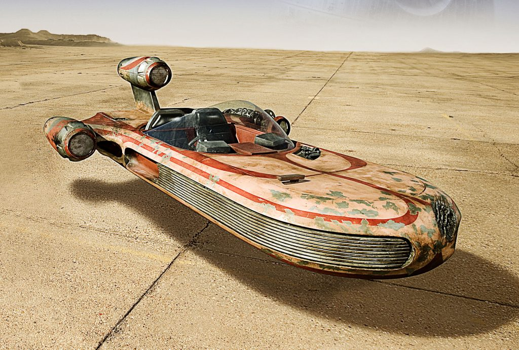 Star Wars X-34 Landspeeder