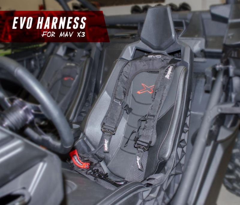 Can-Am Maverick X3 Harnesses