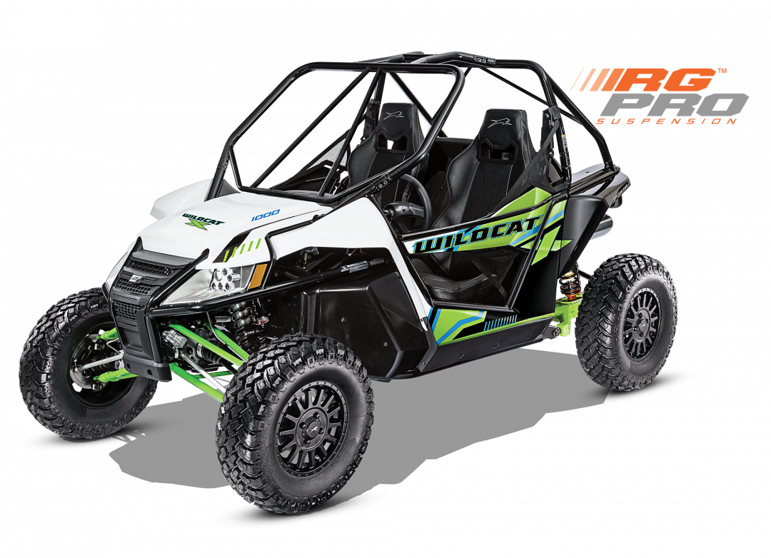 Arctic Cat Wildcat X with RG PRO Suspension
