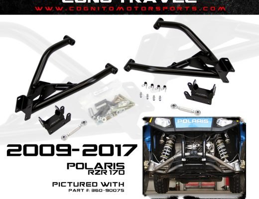 Cognito Motorsports Polaris RZR 170 Long Travel Control Arm Kit