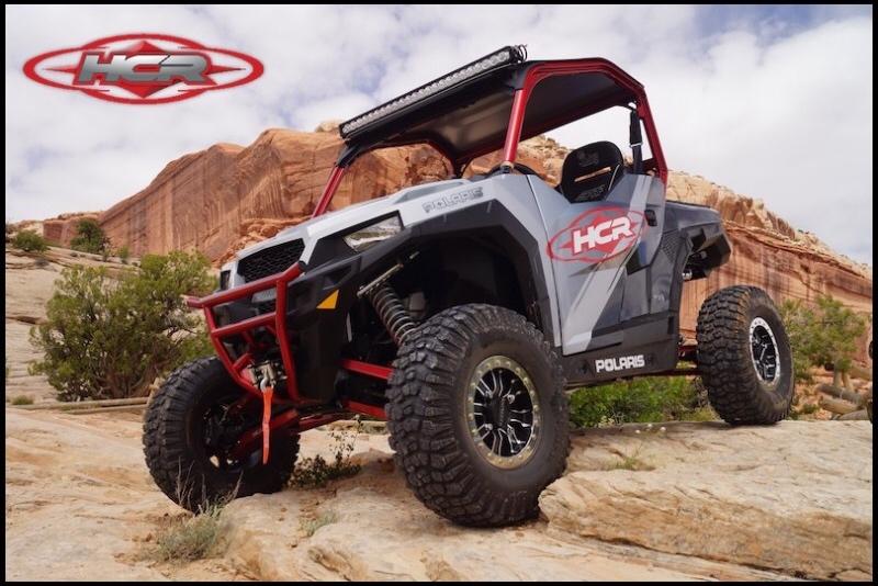 HCR Racing Polaris GENERAL 1000 Long Travel Kit