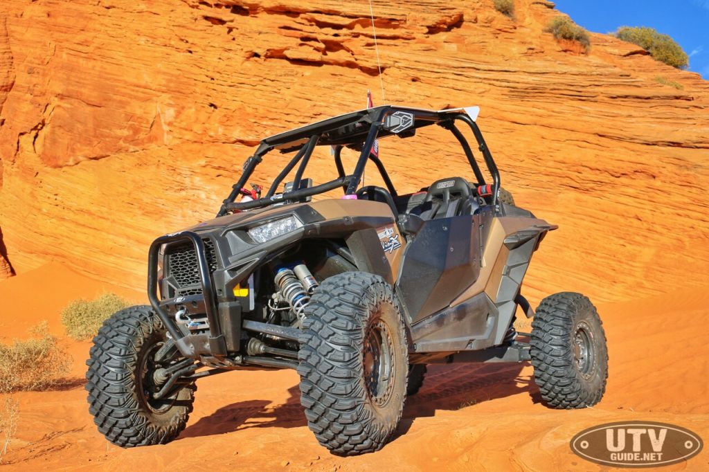 Gold Metallic Polaris RZR XP1000