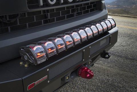 Rigid unveils adapt led bar at sema utv guide rigid adapt led light bar aloadofball Images