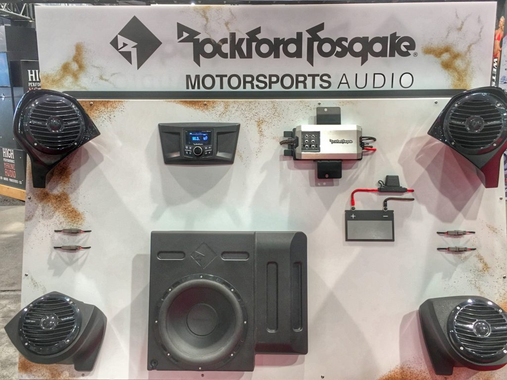 Rockford Fosgate Yamaha YXZ1000R Audio System