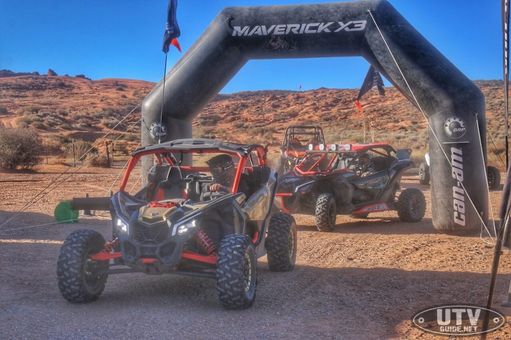 Can-Am Maverick X3 Demo Rides