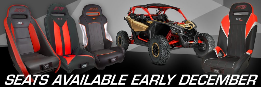 Can-Am Maverick X3 Seats
