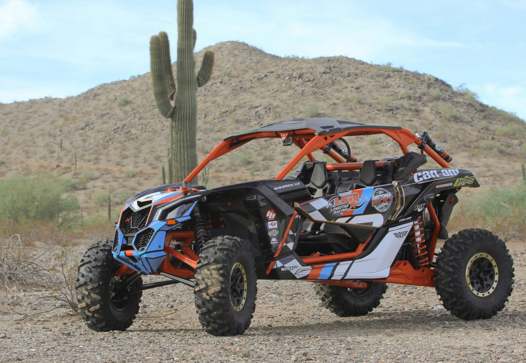 Can-Am Maverick X3 Daytona Package