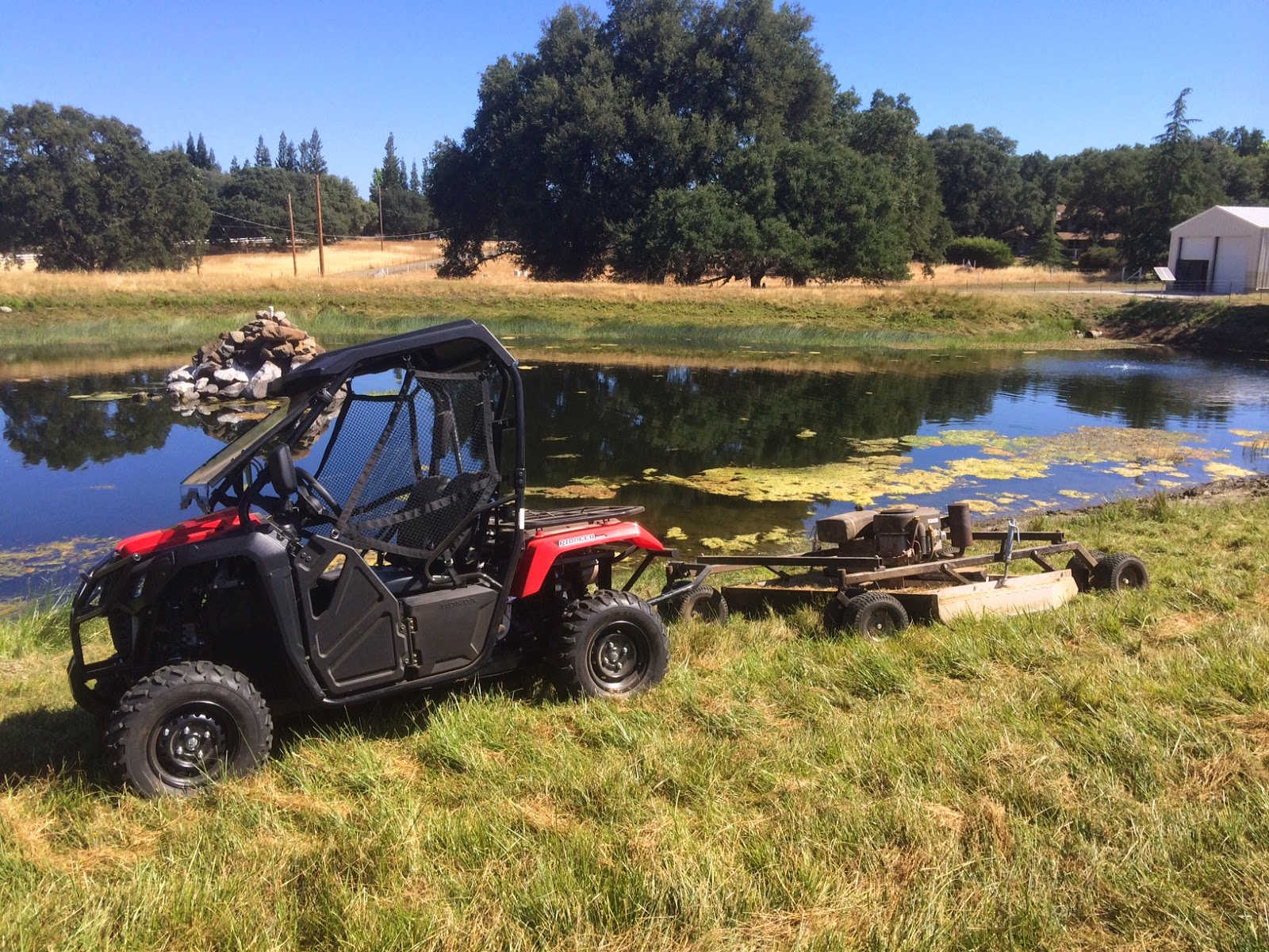 Field Mowing With The Honda Pioneer 500 Utv Guide